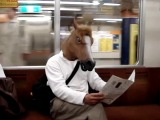 Токийские людолошади Маска лошади коня